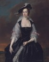 ca. 1741 Frances Courtenay, née Finch, wife of William Courtenay, 1st Viscount Courtenay by Thomas Hudson (auctioned by Sotheby's)