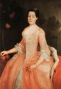ca. 1745 Anna Wilhelmine of Anhalt-Dessau by ? (location ?) Wm