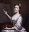 ca. 1750 Rhoda Astley (née Delaval) by Arthur Pond (National Portrait Gallery - London UK)