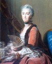 ca. 1751 Anne Marie Louise Nicole de Lamoignon de Malsherbes, Countess of Senozan by Jean Valade (Detroit Institute of Arts - Detroit, Michigan USA)