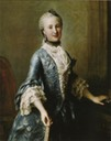 ca. 1755 Maria Elisabeth Apollonia von Sachsen by Johann Eleazar Zeisig (location unknown to gogm)