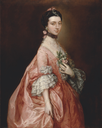 ca. 1763 Mary Little, Later Lady Carr by Thomas Gainsborough (Yale Center for British Art - New Haven, Connecticut USA)