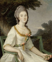ca. 1765 Fortunée d'Este by ? (location unknown to gogm)