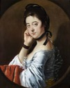 ca. 1765 Mary Bold (1740–1824), Mrs Thomas Hunt III by Joseph Wright of Derby (Lanhydrock - Bodmin, Cornwall UK)
