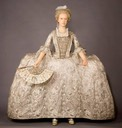 ca. 1765 'Rockingham Mantua', from the Royal Ceremonial Dress Collection (Kensington Palace - London UK)