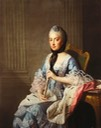 ca. 1769 Elisabeth Albertine of Saxe-Hildburghausen, Duchess of Mecklenburg-Strelitz by Allan Ramsay (Royal Collection) From artoftherococoera.tumblr.com despot