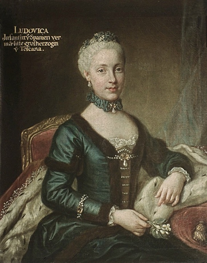 ca. 1770-1773 Maria Luisa of Spain by ? (Hofburg - Innsbruck, Tirol, Austria) Wm X 1.5