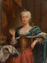 ca. 1772 Princess Louise of Stolberg (1752–1824) by ?  (West Highland Museum - Fort William, Highland, UK) From bbc.co shadows