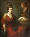 ca. 1773 Frances Ann Acland (1735/1736–1800), Lady Hoare by Angelica Kauffmann (Stourhead - Stourton, Wiltshire UK)