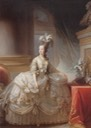 ca. 1778 Marie-Antoinette by Elisabeth-Louise Vigee-Lebrun (location unknown to gogm)
