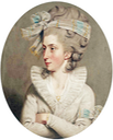 ca. 1780 Letitia Anna Philippa Pervis, née Leman, by John Downman (auctioned by Christie's) From karoline-von-manderscheid.tumblr.com:post:159439145551:john-downman-1750-1824-portrait-of-letitia-anna