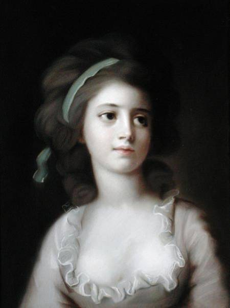 ca. 1786 Sophie Potocka by French school after Kucharsky (?) (auctioned by Bonhams)