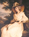 ca. 1789 Lady Bess Foster Racky by Sir Joshua Reynolds (location unknown to gogm)