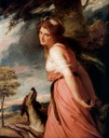 ca. 1790 Emma Hart Hamilton – The Bacchante by George Romney (location unknown to gogm)