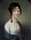 ca. 1800 Prinzessin Maria Elisabeth Wilhelmine von Baden, married to Frederick William, Duke of Brunswick-Wolfenbüttel by ? (location unknown to gogm)