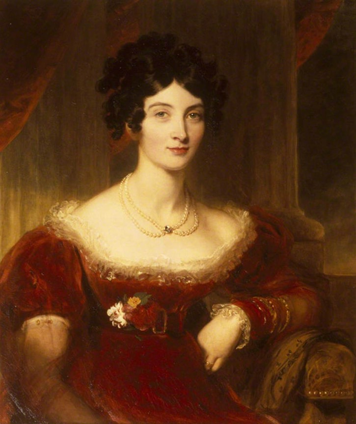 Anne Frances Bankes (1789-1864), Countess of Falmouth