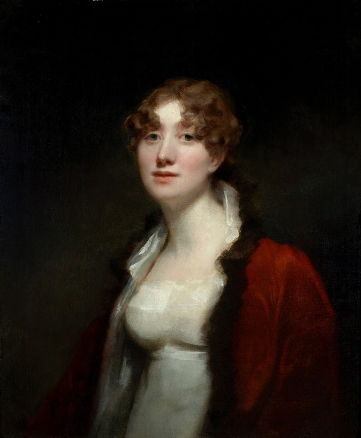 ca. 1811 Mrs. David Monypenny, Maria Sophia Abercromby, Lady Pitmilly by Sir Henry Raeburn (on sale by Strachan Fine Art) From bada.org/object/mrs-david-monypenny-maria-sophia-abercromby-lady-pitmilly-sir-henry-raeburn-c1811