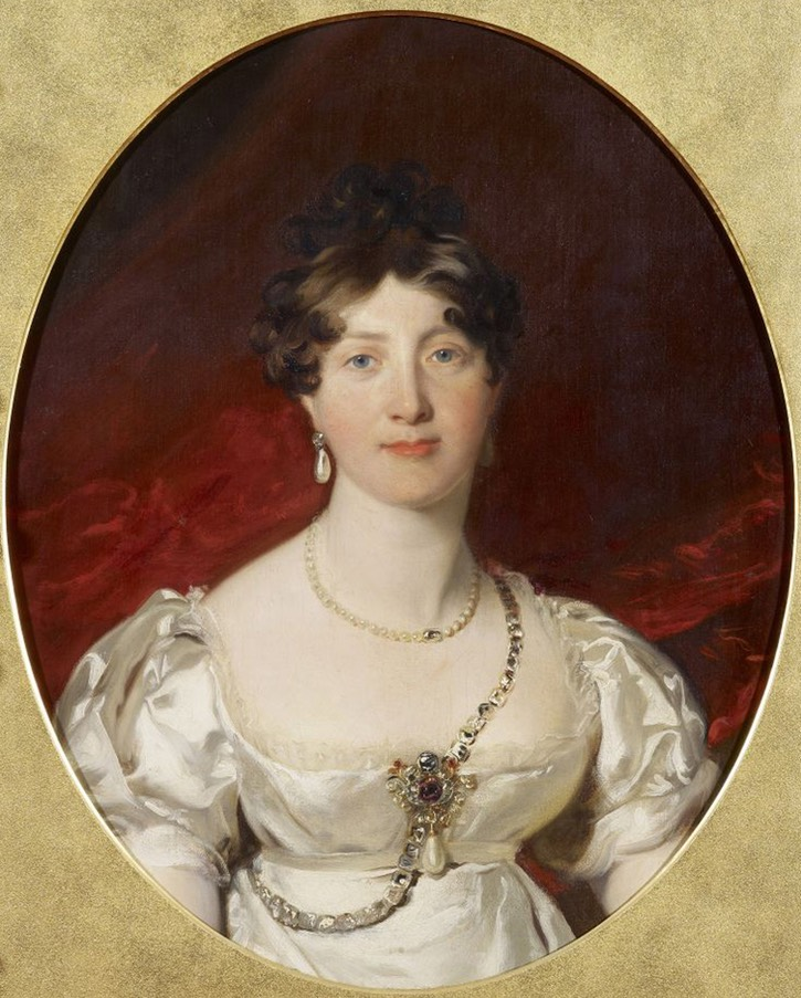 ca. 1817-1830 Princess Mary by Sir Thomas Lawrence (Royal Collection) From princesscharlotteofwales.wordpress.com/category/family/.jpg