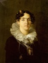 ca. 1817 Maria Teresa de Braganca by Nicolas Antoine Taunay (location unknown to gogm) Wm despot fixed corner