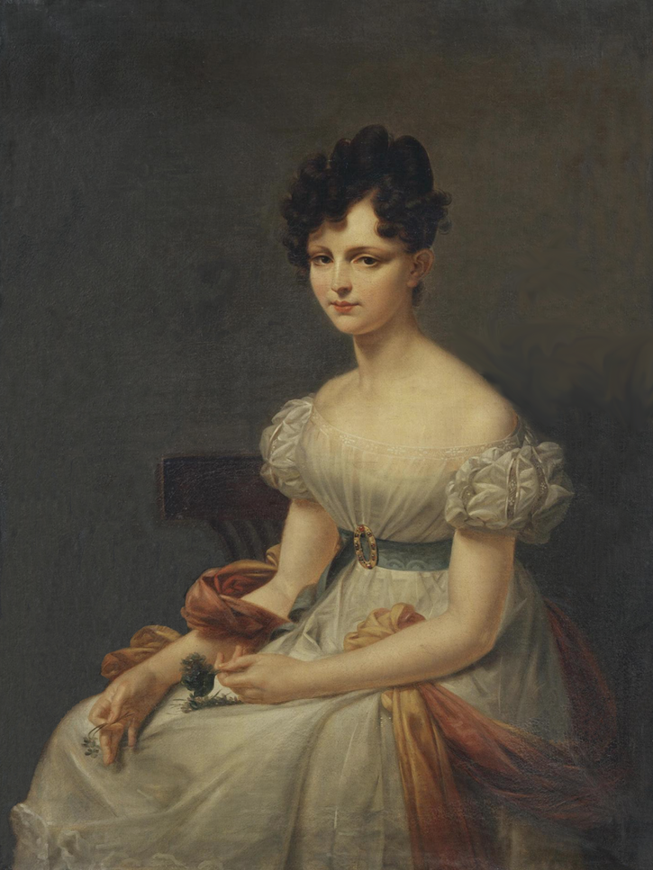 ca. 1825 Princess Anna Nikolayevna Golitsyna (?) by ? (State Hermitage Museum - St. Petersburg, Russia) From hermitagemuseum.org-wps-portal-hermitage-digital-collection-01.+Paintings-168320-?lng=nl redid background