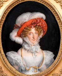 ca. 1830 Marie-Amelie by manufacture Porcelaine de Paris (Musée Condé - Chantilly, Picardie, France) Photo - René-Gabriel Ojéda