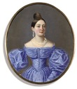 ca. 1835 Lady, said to be a member of the Olenin family by ? (Christie's)