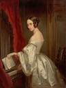 ca. 1840 Maria Ivanovna Bariatinsky by Christina Robertson (State Pushkin Museum - Moskva, Russia) From liveinternet.ru:users:5031314:post360994839: trimmed despot deflaw