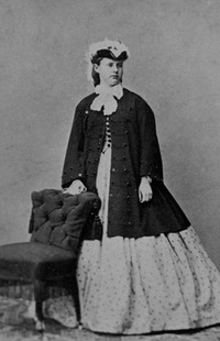 ca. 1862 Archduchess Maria Theresia of Austria-Teschen possibly taken by Ludwig Angerer, Wien (no photographer listed) synnadene's photostream