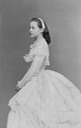 ca. 1869 Queen Olga as a young woman