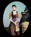 ca. 1880 Magic lantern slide of the Duchess of Connaught eBay