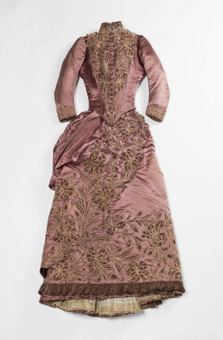 ca. 1887 Out of the box robe de jour by Maison Soinard