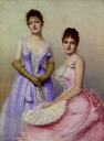 ca. 1889 The Debutantes by Marta Aronssohn-Danzig (auctioned by Christie's)