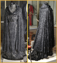 ca. 1900 Evening dress and cloak of Maria Feodorovna by Maro-Walter workshop (State Hermitage Museum - St. Petersburg, Leningrad Oblast, Russia) From the museum's Web site