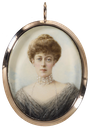 ca. 1905 Princess Victoria of Wales by W. & D. Downey (Royal Collection)