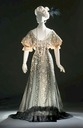 ca. 1907 Callot Soeurs evening dress worn by Consuelo Vanderbilt, Duchess of Marlborough
