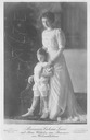 ca. 1910 (based on age of child) Viktoria Luise with nephew Prince Wilhelm of Prussia