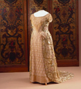 ca. 1911 Evening dress of Wilhelmina, Queen of the Netherlands From pinterest.com:lvjames2009:royal-clothing: