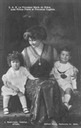 ca. 1912 (based on ages of children) Marie Bonaparte and children