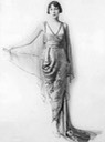 ca. 1913 Lucile design From dailymail.co.uk:femail:article-2424054:Designer-collaboration-Lady-Lucile-Duff-Gordons-1916-line-Sears-sparked-modern-fashion-phenomenon.html detint removed logo