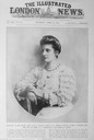 ca. 1913 Princess Augustine Victoria Hohenzollern Duchess of Saxony