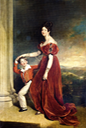ca.1828 Unaltered Frances Marchioness of Londonderry with her Son Lord Seaham by Sir Thomas Lawrence (private collection) From liveinternet.ru:users:3251944:post206179254: trimmed