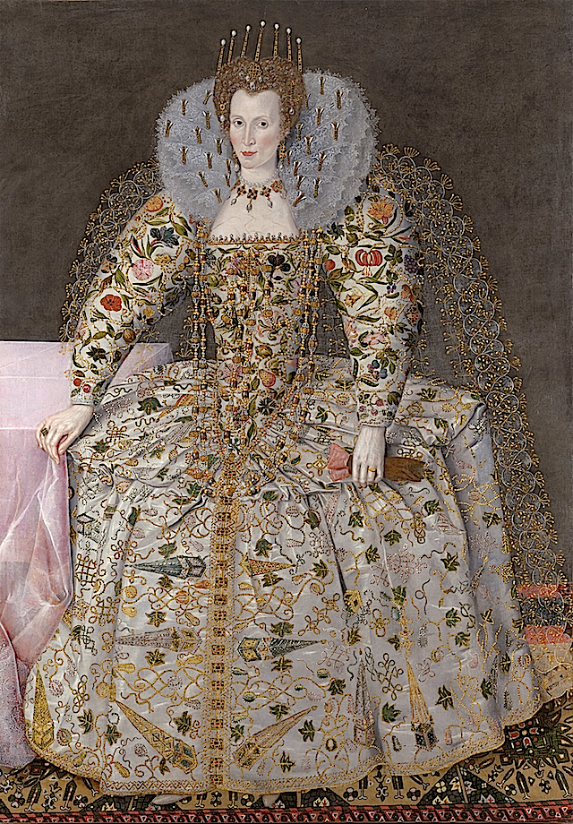 ca. 1597 Catherine Carey, Countess of Nottingham by Robert Peake the Elder (Weiss Gallery - London UK)