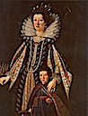 ca. 1623 Maria Maddalena of Austria (Wife of Duke Cosimo II de' Medici) with her son, the future Ferdinand II by Justus Sustermans (Flint Institute of Arts - Flint, Michigan USA)