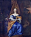 ca. 1642 Lady Elizabeth Cavendish as a bride by ? (Ashridge Business School, Egerton collection - Berkhamsted, Hertfordshire UK)