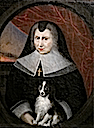 ca. 1667 Françoise of Lorraine as a widow by ? (location unknown to gogm)