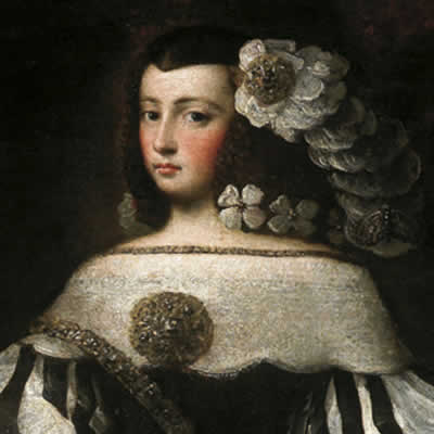 ca. 1677 Felice de la Cerda y Aragón, Marquesa de Priego trunk and head from fundacionmedinaceli.org bertha