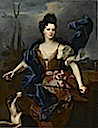 ca. 1704 The Duchess de Choiseul as Diana by Jean-Baptiste Oudry (Norton Simon Mueum - Pasadena, California USA)