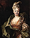 ca. 1715 (estimated) Jeanne Gagne de Perrigny by Nicolas de Largilière (auctioned by Christie's)