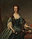 ca. 1735 Anne, née Waller, Lady Stapylton by Andrea Soldi (National Portrait Gallery - London UK)