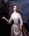 ca. 1735 Henrietta Godolphin Duchess of Newcastle by Charles Jervas (Philip Mould)